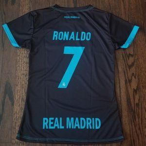 Real Madrid  CR7 Women's Soccer Jersey